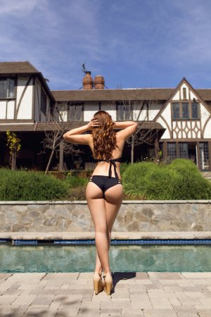 Thereze erotic massage in Newport Beach CA, escort